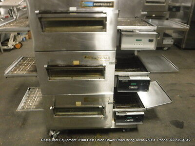 Lincoln impinger 1132 Electric Triple Stack Conveyor Pizza Oven