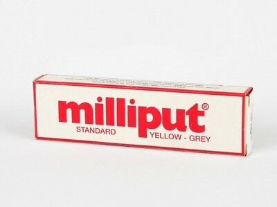 Milliput 2 Part Epoxy Resin Putty/Standard/White/Black/Silver-Grey/Terracotta