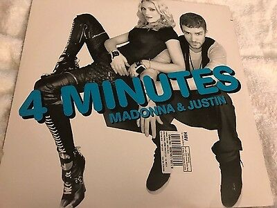 "Madonna & Justin - 4 Minutes 12"" Double Pack"