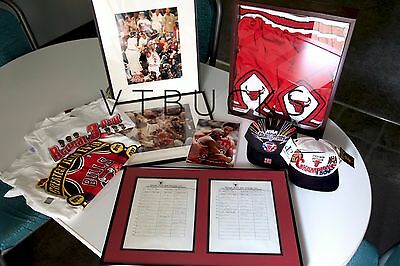 "The Ultimate Bulls Collection ""parking List With 23 Signed In  Jordan, Red Kerr"