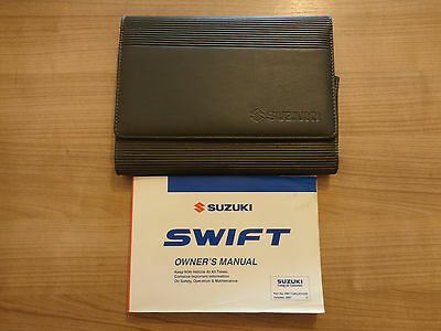 SUZUKI SWIFT 3 5 DOOR /& SPORT OWNERS MANUAL HANDBOOK WALLET 2008-2010 # F-495