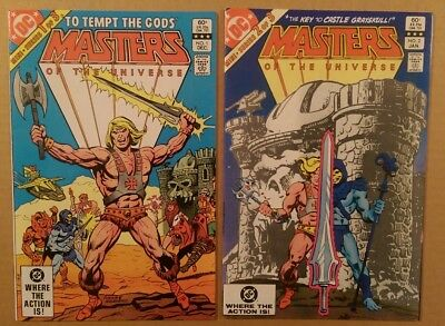 Masters of the Universe #1 (1982 vol. 1/DC miniseries) Bronze age key