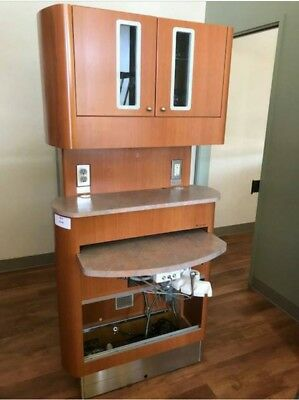 Dental Operatory Cabinets, Dentist Delivery Units Dental Equipment Center Island
