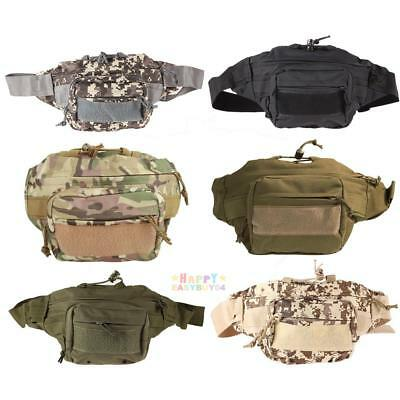 Pop Outdoor Military Tactical Waist Pack Shoulder Bag Molle Camping Hiking Pouch
