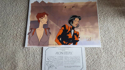 Animation Cel of Aeon Flux from MTV