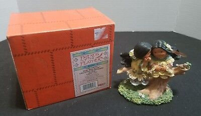 Enesco Friends of the Feather 2000 Life's Journey Holds Many Secrets Figurine