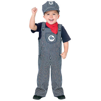 Fun World Baby's Train Engineer Conductor Toddler Costume