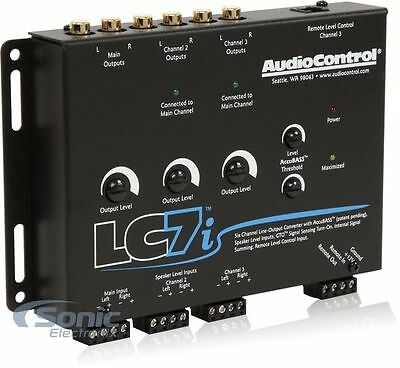 AudioControl LC7i 6-Channel Line Output Converter with AccuBASS