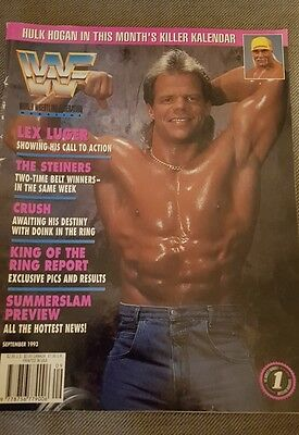 WWF WWE MAGAZINE September 1993