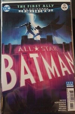 All-Star Batman #13 [2016] - The First Ally -  DIGITAL CODE ONLY