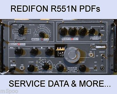 Redifon R551N Service Manuals / HI-RES schematics and more - DIGITAL DOWNLOAD