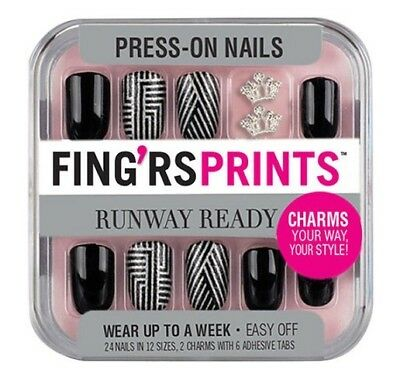 Fing'rs Prints Runway Ready Press On Nails, 31052 Style Icon