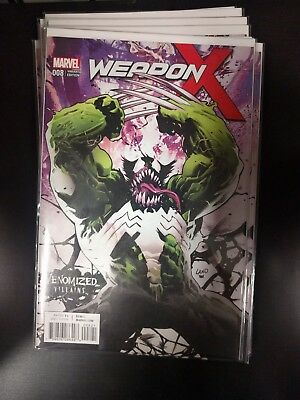 Weapon X #8 Venomized Weapon H Variant Villains Venom Wolverine New 1 Hulk