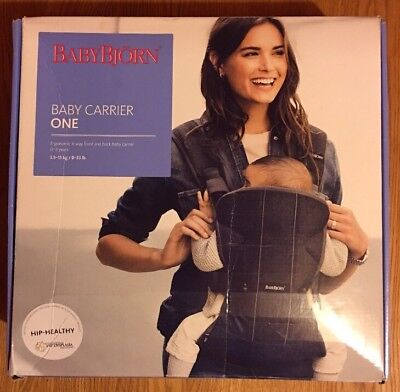Baby Bjorn One Baby Carrier - Used But Fantastic Condition With Box/Instructions