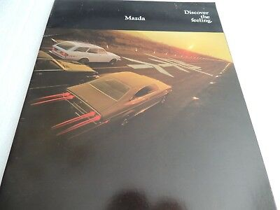 1974  Mazda brochure full line with a 1975 insert also