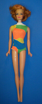 Vintage STACEY DOLL Twist & Turn TNT #1165 Titian Red Hair BL 1969 Stacie Barbie