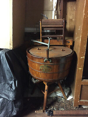 1901 Antique Washing Machine Complete And In Excellent Condition,no Shipping