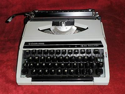 A Silver-Reed SR100 Tabulator typewriter Amazing condition  great working order