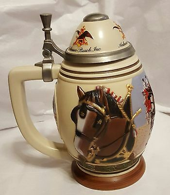 "Anheuser-Busch"" Pride and Tradition"" Beer Stein"