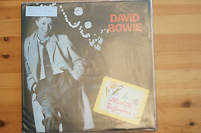 """Rare David Bowie Absolute Beginners GF 12"""" 45RPM Virgin 1986 EX with Poster Mag"""