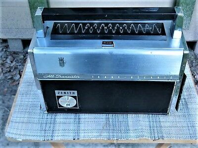 Transoceanic Royal 3000-1 nice exterior for parts