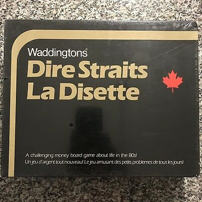 Waddingtons Dire Straits Las Disette Vintage Board Game