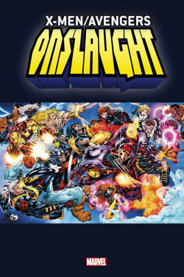 X-MEN / AVENGERS ONSLAUGHT Omnibus HC Sealed *NM* $125 Cover 1296 pages!
