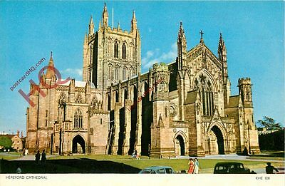 Picture Postcard- Hereford Cathedral