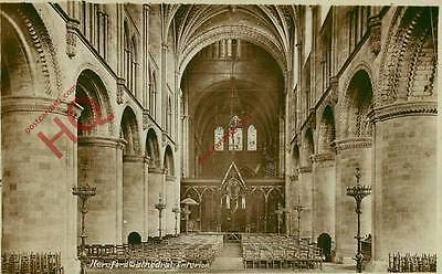 Picture Postcard- Hereford Cathedral, Interior