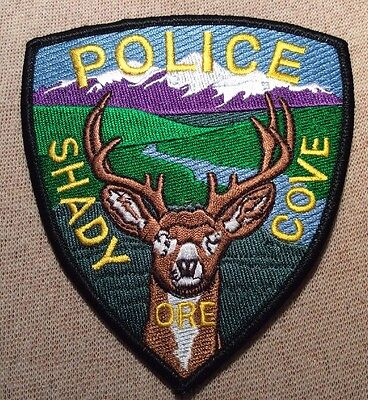 OR Shady Cove Oregon Police Patch