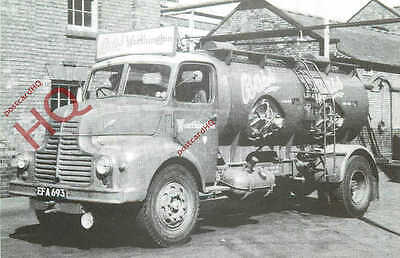 Picture Postcard- LEYLAND COMET TANKER, BASS WORTHINGTON BREWERY