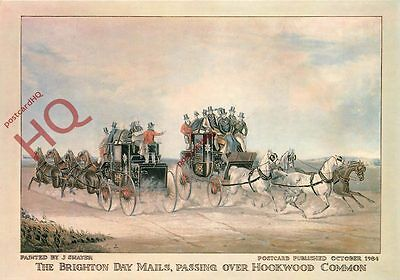 Picture Postcard- Royal Mail, The Brighton Day Mails, J. Shayer