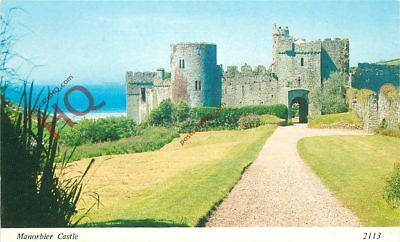 Picture Postcard- Manorbier Castle [Archway]