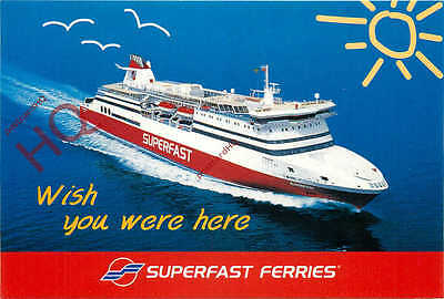 Picture Postcard- SUPERFAST FERRIES, GREECE