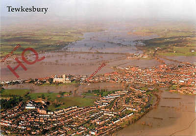 Picture Postcard- Tewkesbury, Floods