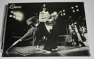 QUEEN original JAPAN PROMO ONLY 1970s POSTER official FREDDIE MERCURY more liste