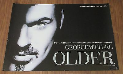 GEORGE MICHAEL Japan PROMO ONLY 1996  release poster WHAM! official MORE LISTED!