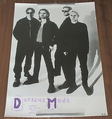 DEPECHE MODE Japan PROMO ONLY original 1993 POSTER new wave MORE DM IN STOCK!