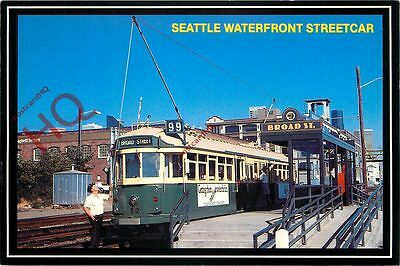 Picture Postcard: SEATTLE WATERFRONT STREETCAR