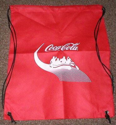 "Coca-Cola Coke Sports bag 14"" x 18""  Mint 2013"