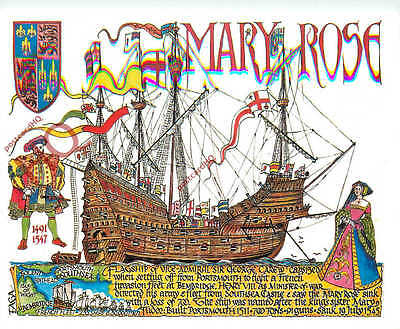 Picture Postcard: THE MARY ROSE