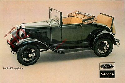Picture Postcard::FORD 1931 MODEL A