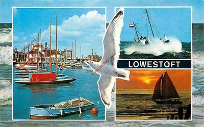Picture Postcard::Lowestoft (Multiview) Seagull