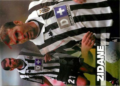 Picture Postcard-:Football, Juventus, Zidane