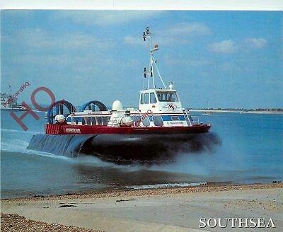 Picture Postcard:-HOVERCRAFT, SOUTHSEA, HOVERTRAVEL