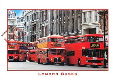 Picture Postcard:-London Buses
