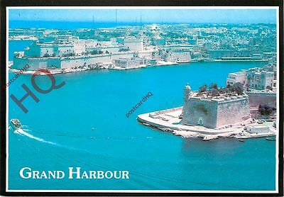 Picture Postcard-:Malta, Grand Harbour