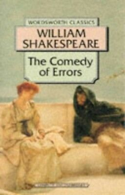 Comedy of Errors (Wordsworth Classics) by Shakespeare, William Paperback Book