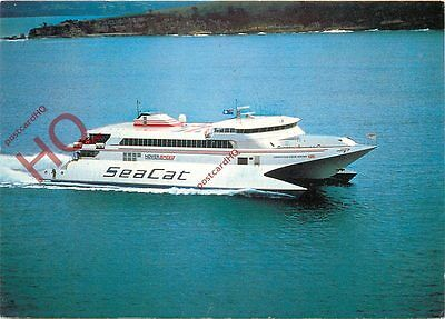 Picture Postcard-:SEA CAT FERRY, HOVERSPEED