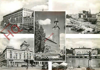 Picture Postcard-:Stockholm (Multiview)